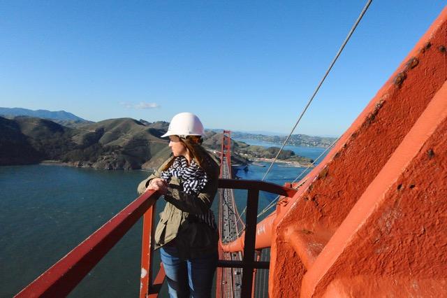 Tiff on bridge